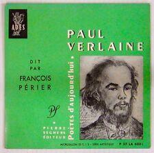 Paul Verlaine dit par François Périer Pierre Seghers