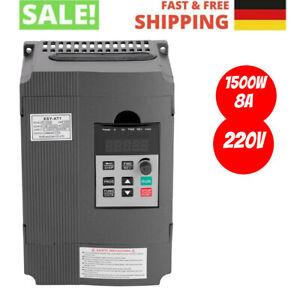 1,5KW 2HP Frequenzumrichter Variable Frequency Driver VFD für 3-phase AC Motor