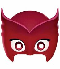 Owlette from PJ Masks Official Licensed Single 2D Card Party Face Mask
