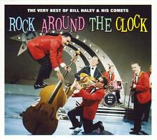 BILL HALEY & HIS COMETS - ROCK AROUND THE CLOCK - 50 TRACKS (NEW SEALED 2CD)