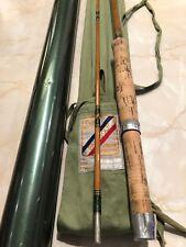 Vintage Pezon Et Michel Parabolic Supreme 2 Piece 9Ft Fly Rod with Bag & Tube