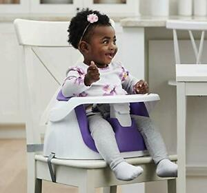 Regalo My Little 2-in-1 Booster Seat and Grow with Me Floor Seat with Removab...