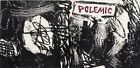 "Roy Lichtenstein, ""Polemic"" (1958) - early woodcut print"