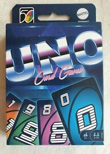 Jeu de cartes neuf UNO Iconic 1980S