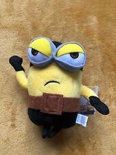 "Despicable Me Minions Plush Toy - Pirate Minion 7"" / 18cm - New & Tagged"