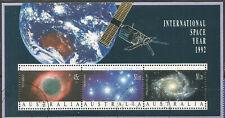 Australia Scott#1260a (0) Year Space International 1992