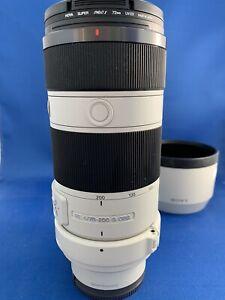 Sony FE 70-200mm F4 G OSS Full Frame Lens for A7 A7 II A7S A7R Excellent