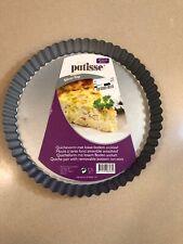 Patisse Silver Top Removable Bottom Flan Pan