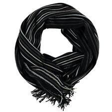 9e502aed9dc3 Écharpes noir avec des motifs Rayures pour homme   eBay