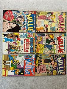 Marvel Comics Millie The Model Lot Silver Age Romance