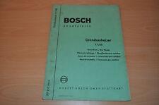 Ersatzteile Bosch Omnibusheizer XY EVE 651/2 Heizer Omnibus Ersatzteilliste
