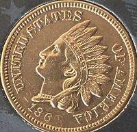 1862 INDIAN HEAT PENNY 4  DIAMONDS  ***BEAUTIFUL COIN***Cleaned