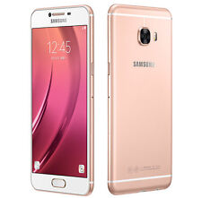 "Samsung Galaxy C5 C5000 Pink Gold 5.2"" 16MP 32GB 4GB RAM Android Phone By FedEx"