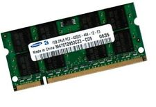 1gb ddr2 samsung ordinateur portable mémoire ram pc2-3200s 400 MHz so DIMM pc2-4200s 200pi