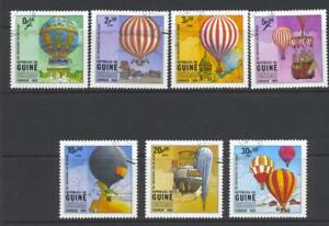 Guinea Bissau  1983 SG 727-33 Manned Flight Bicentenary Air Used
