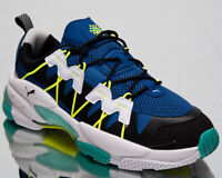 Puma LQD Cell Omega Men's Black Galaxy Blue Casual Lifestyle Sneakers Shoes