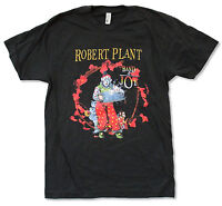 """ROBERT PLANT """"COVER ALBUM N.A. TOUR 2011 (APRIL-MAY)"""" BLACK T-SHIRT NEW OFFICIAL"""