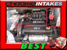 K&N+RED 04 05 06 07 08 CHEVY AVEO BASE/LS/LT 1.6 1.6L I4 COLD AIR INTAKE KIT