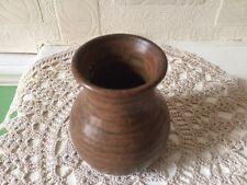 Vintage Prinknash Pottery Brown Rustic Vase