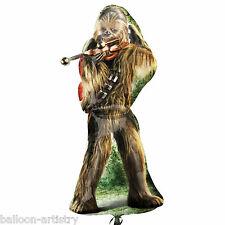 """38 """"Star Wars Chewbacca carattere Children's Party FOIL SUPERSHAPE NUMERO di riferimento"""