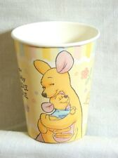 ~WINNIE THE POOH~ BABY ROO  8- PAPER CUPS -9-FL. OZ. -   PARTY SUPPLIES