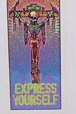 Express Yourself Censorship Skeleton Handbill Flyer