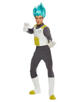 SUPER SAIYAN VEGETA HALLOWEEN COSPLAY COSTUME MENS S/M 34-40 NEW DRAGON BALL Z
