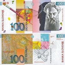 SLOVENIA - 100 tolarev 2003 FDS UNC
