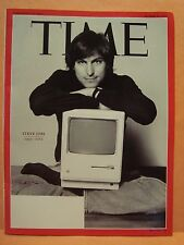 STEVE JOBS 1955 2011 TIME MAGAZINE COVER PAGE PHOTO ON 4X6 GLOSSY PHOTO PAPER