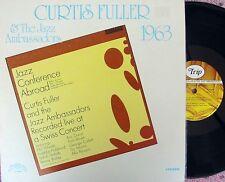 Curtis Fuller & Jazz Ambassadors US Reissue LP EX Trip TLP5580 Jazz Hard Bop