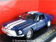 SHELBY GT 500-KR 1968 MODEL SPORTS CAR 1/43RD SCALE PACKAGED ISSUE BXD K8967Q~#~