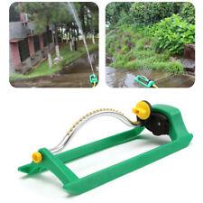18-jets Oscillating Lawn Water Sprinkler Garden Grass Watering Pipe Hose