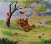 Disney Winnie the Pooh Sliding Original Production Cel
