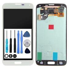 Für Samsung Galaxy S5 SM-G900F LCD Display Einheit Touchscreen Glas Weiss Weiß