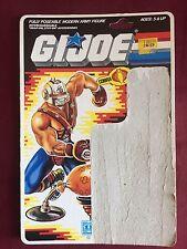 VINTAGE BIG BOA FILE CARD G.I. Joe Action Figure GREAT SHAPE 1987 UNCUT