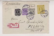 All.Bes./Gemeinsch.Ausg. Mi.937 u.a MiF AM-Post 16OR, Not-R-Essen - Pegau, 18.9.