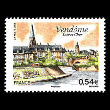 "France 2008 - Tourism ""Vendome"" Loir et Cher Architecture - Sc 3405 MNH"