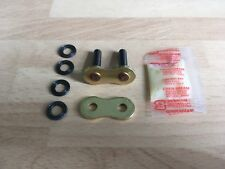 RK 525 XSO X RING GOLD CHAIN RIVET LINK MASTER LINK SOFT FREE POST!