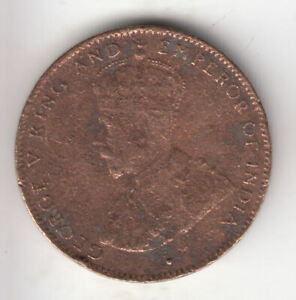 MAURITIUS 2 CENTS 1921 COPPER SCARCE         8G      BY COINMOUNTAIN