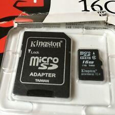 Kingston 16Gb Micro SD Card - New