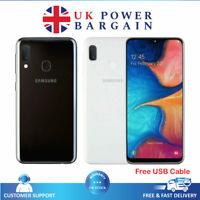 Samsung Galaxy A20e 32GB Dual Sim Unlocked Android Smartphone - Black White Blue