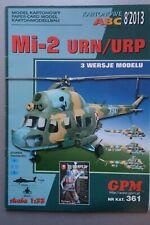 Hubschrauber Mil Mi-2 URN,  GPM Nr 361, Karton-Modellbaubogen