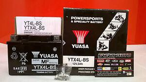 BATTERIA KTM YUASA YTX4L-BS CARICATA EXC R 4T 530 2008 2009 2010