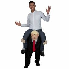Adult Carry Me President USA Donald Trump Piggy Back Fancy Dress Costume Outfit