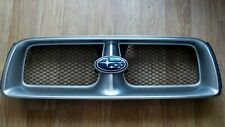 For Subaru Forester SG XT 2003 2004 Grill JDM Sport Grille Used 01G Silver Color