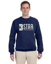 Star Labs Pullover Crew Neck Sweat Shirt The Flash STAR LABORATORIES Superman