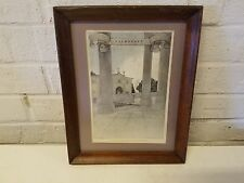 Maxfield Parrish Valmarana Engraved H. Wellington Framed Print