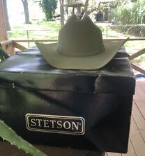 Stallion by Stetson Beige XX Cowboy Hat 55 - 6 7/8 Premium Wool Vintage