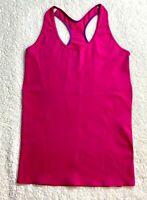 Ivivva By Lululemon Girls Pink Tank Top Shirt Gym Dance Yoga Sports - Size 14