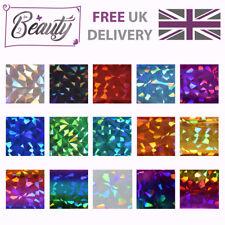 Nail Art Transfer Foil Foils Wraps Glitter Decal Holographic Diamond 1m multi 15